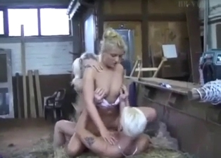 Bleached brother pounds his seductive sister