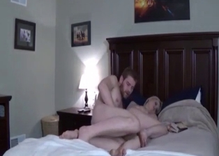 Perfect sister sucks my hard prick on the knees