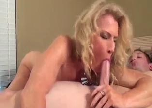 Curious oral incest sex with a stepmother