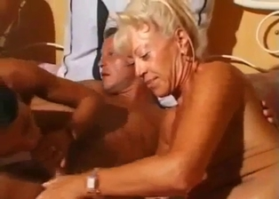Uncle and nieces have an outstanding anal 3some